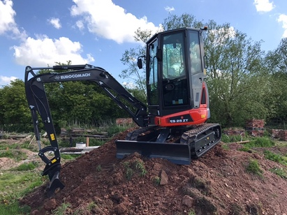 EUROCOMACH ES 2.5 ZT MINI DIGGER ZERO TAIL SWING